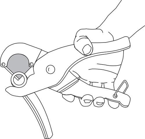 Lisle ls-11420 tuyau pince lame en acier inoxydable made in usa
