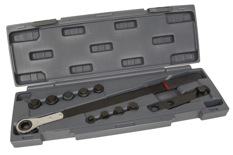 59650 Ratcheting Serpentine Kit, 11pc.