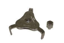 63850 58-110mm 3 Jaw Filter Wrench with Adapter
