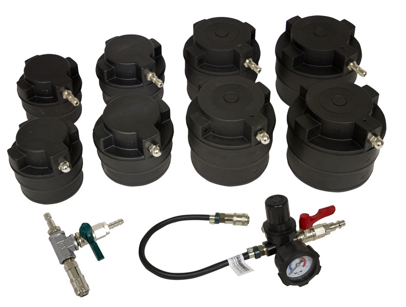 69930 HD Turbo Air System Test Kit w/ Smoke Adapter, 10pc.