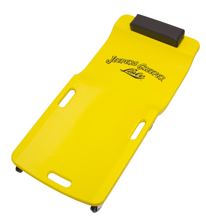 Lisle 93102 Yellow Plastic Creeper
